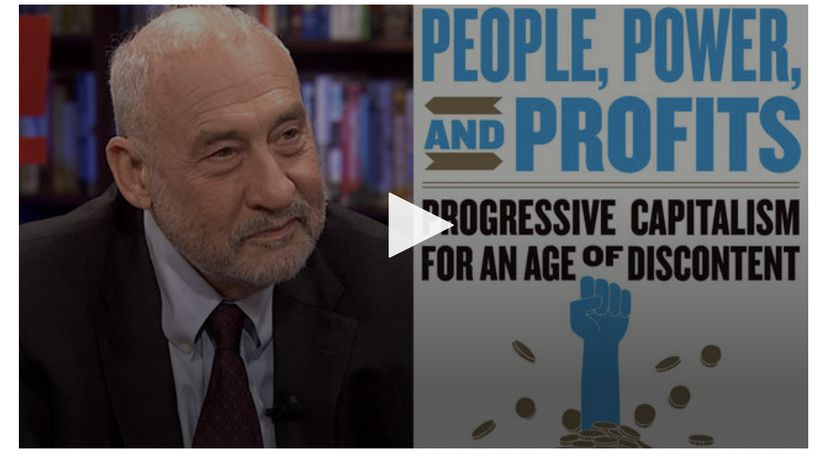 Capitalism Hasn't Been Working for Most People for the Last 40 Years - Podcast with Joseph Stiglitz