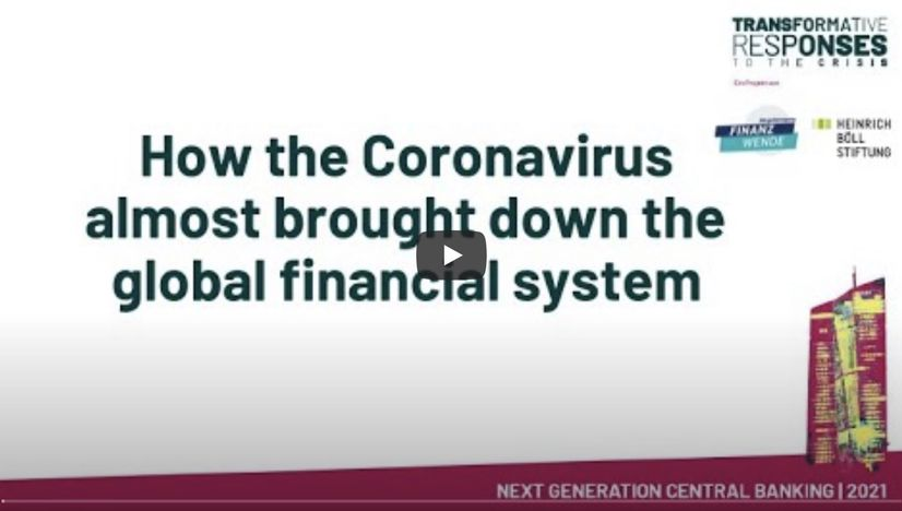 NextGen Central Banking: How the coronavirus almost brought down the global financial system