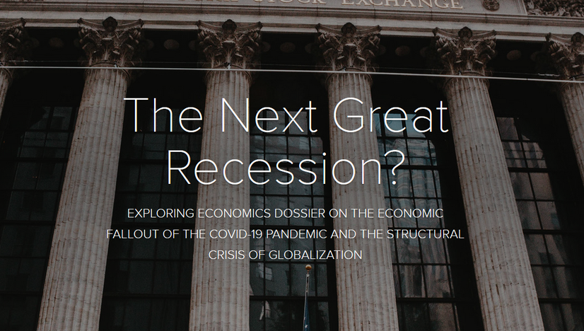 The Next Great Recession? Exploring Economics Dossier