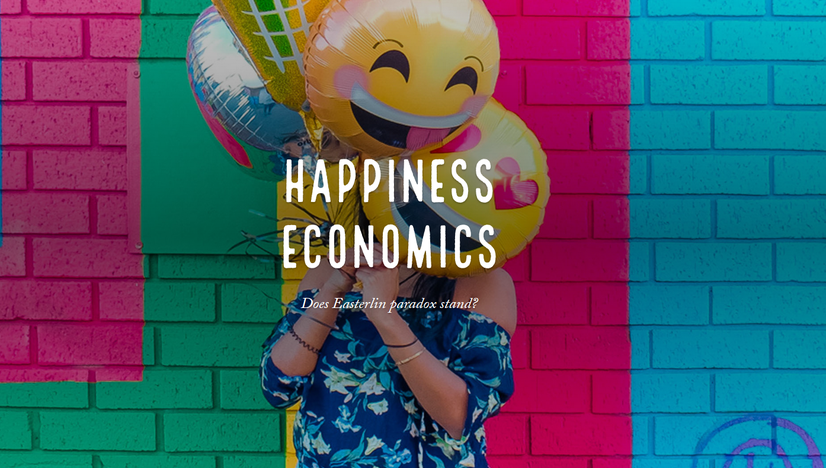 Happiness Economics. Does the Easterlin paradox stand?